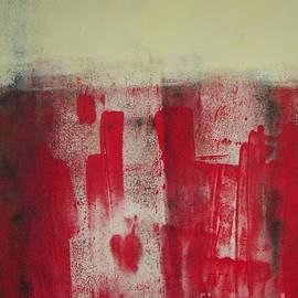 Vesna Antic - Red abstract