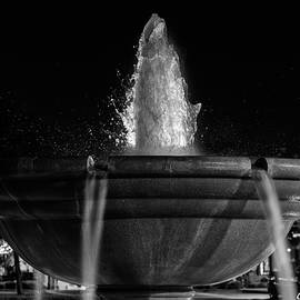 Fountain At Night by Christopher Holmes