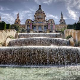Fountain at Placa D'Espanya by Svetlana Sewell