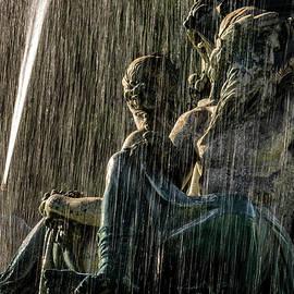 Pablo Lopez - Fountain at Rossio Square