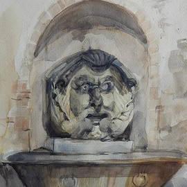 Fountain In Rome by Greta Corens