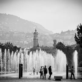 Fountain Play by Jason Smith