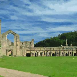 Brian Shaw - Fountains Abbey, the Ruins