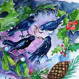 Trudi Doyle - Four Calling  Birds