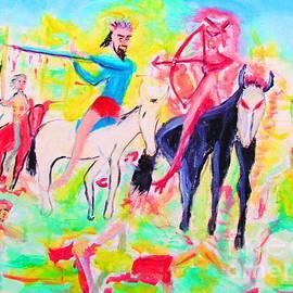 Four Horsemen by Stanley Morganstein