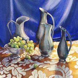 Natalie Stafford - Four Pewter Pitchers
