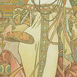 Four Seasons  Autumn, 1900 - Alphonse Marie Mucha