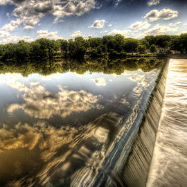 Roger Passman - Fox River at the Geneva Dam