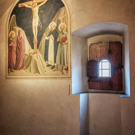 Joan Carroll - Fra Angelico Fresco Florence Italy