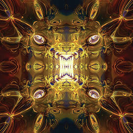 Fractal Abstract no1 by Grant Osborne