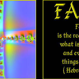 Fractal Faith Hebrews 11 by Rose Santuci-Sofranko