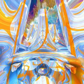 Fractal Swirl Land by Grant Osborne