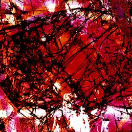 Shawna Rowe - Fragmentalize - Red Monochrome