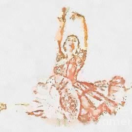 Catherine Lott - Fragmented Abstract Visual Ballerina