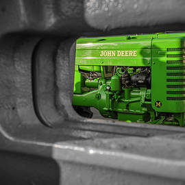 Framed Deere by Jim Love