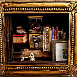 Framed Odds And Ends by Christopher Holmes