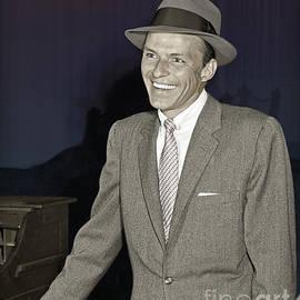 Martin Konopacki Restoration - Frank Sinatra on Set