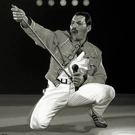 Freddie Mercury of Queen by Meijering Manupix