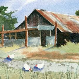 Free Range Chickens - Marsha Elliott