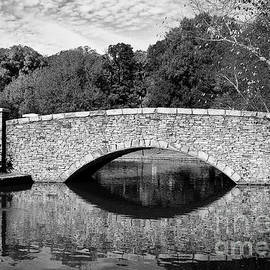 Freedom Park Bridge In Black And White by Jill Lang