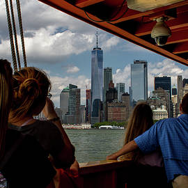 Freedom Tower and the Ferry by Sean Sweeney