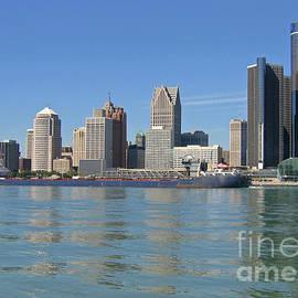 Ann Horn - Freighter Passes Detroit
