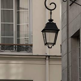 French Alley Lantern-sepia by Jani Freimann