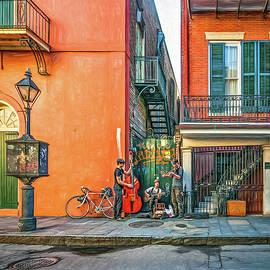 Steve Harrington - French Quarter Trio - Paint