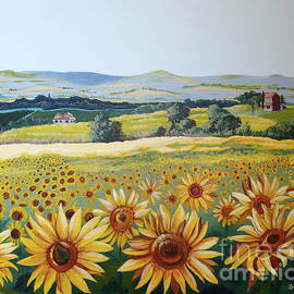 Lois Viguier - French Sunflowers