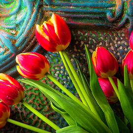 Fresh Colorful Spring Flowers - Garry Gay