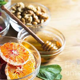 Fresh ingredients by Charlotte Lake