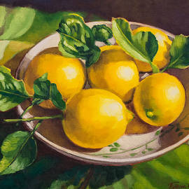 Fresh Lemons by Fiona Craig