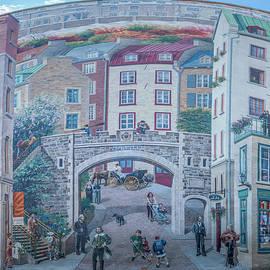 Fresque Des Quebecois by Chris Bordeleau