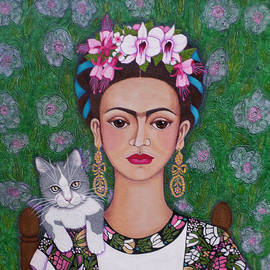 Madalena Lobao-Tello - Frida cat lover closer