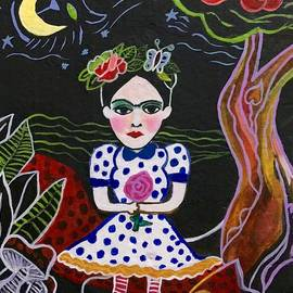 Frida in wonderland by Claudia Leite