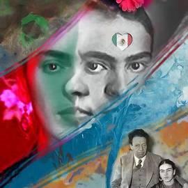 Carl Gouveia - Frida  Kahlo  /  Diego Rivera