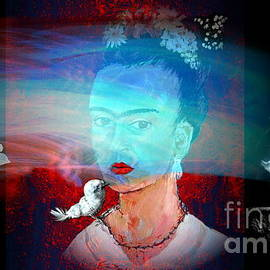 Doria Fochi - Frida Kahlo hallucinating