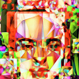 Wingsdomain Art and Photography - Frida Kahlo in Abstract Cubism 20170326 v4