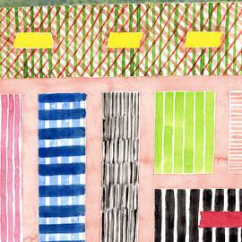 Heidi Capitaine - Friendly Pattern Mix On Pink