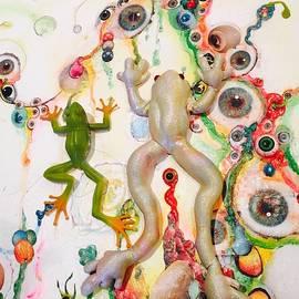 Frogs in the EyeBall Swamp by Douglas Fromm