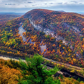 From The Top Of Mount Tammany by Mark Papke