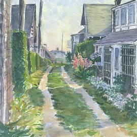 Front Street Siasconset Nantucket by Bill McEntee