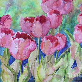 Front Yard Tulips by Marsha Reeves