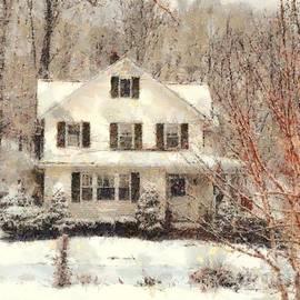 Janine Riley - Frosty Farmhouse Morning