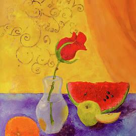 Fruit and Rose Together   by Elena Chukhlebova