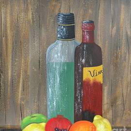 JoNeL Art - Fruit and Vino