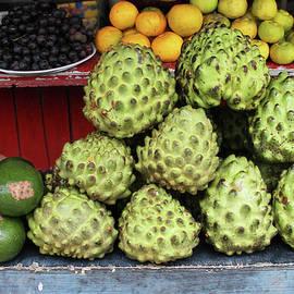 Janet Millard - Fruit Stand with Chirimoya