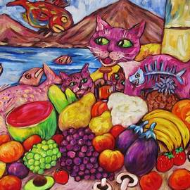 Dianne  Connolly - Fruity Cat Turns Fisho
