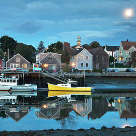 Eric Gendron - Full Moon Over Portsmouth South End