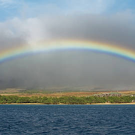 Full Rainbow, Maui Hi by Michael Bessler
